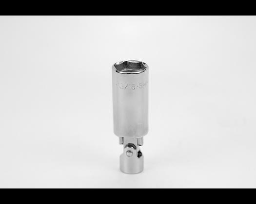 S-K 4490 13/16in 3/8in Dr Swivel Spark Plug Chrome Socket