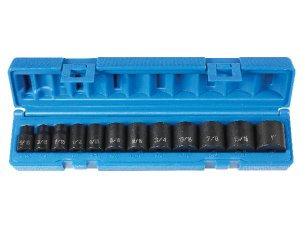 Grey Pneumatic 1213 3/8 Dr 12 Pc Std Set