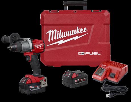 Milwaukee 2804-22 M18 FUEL 1/2in. Hammer Drill Kit