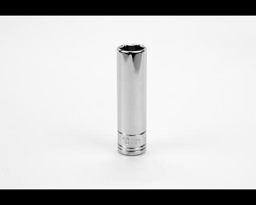 S-K 41706 10mm 1/4in Dr 6 Point Metric Dp Chrome Socket