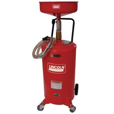 Lincoln 3601 18-Gallon Steel Portable Oil Drain with Dispense Capabilities