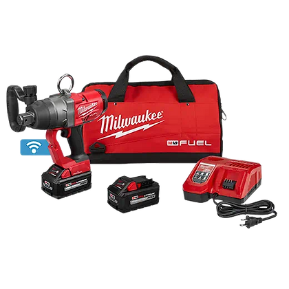 Milwaukee 2867-22 M18 FUEL 1in. High Torque Impact Wrench w/ ONE-KEY Kit