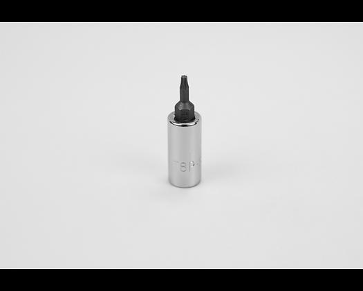 S-K 42938 T8 1/4in Dr Torx Plus Chrome Bit Socket