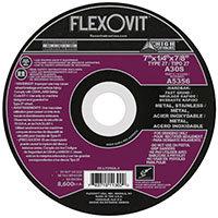 """FlexOvit A5356 Type 27 Grinding Wheel 7"""" x 1/4"""" x 7/8"""""""