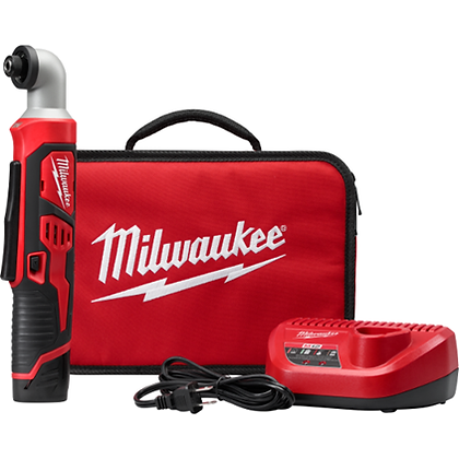 Milwaukee 2467-21 M12 1/4in. Hex Right Angle Impact Driver Kit