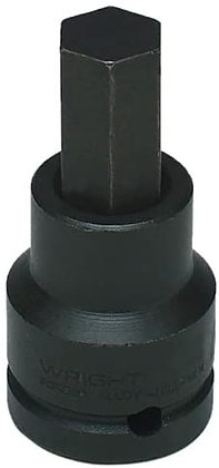 "Wright Tool 6232 1""  Impact Hex Bit 3/4"" Dr. Socket"