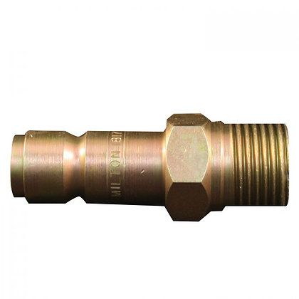 Milton S-1817 1/2in. NPT Male G-Style Plug