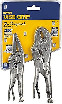Irwin 36 VISE-GRIP Original Locking Pliers Set with Wire Cutter, 2-Piece