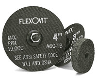 "FlexOvit F0359 Type 1 Grinding Wheel 3"" x 1/4"" x 3/8"""