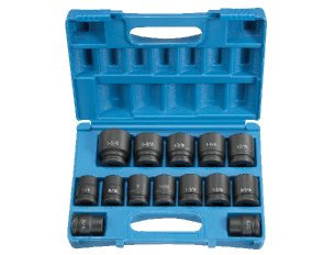 Grey Pneumatic 8038 3/4Dr 14 Pc Std Impact Socket Set