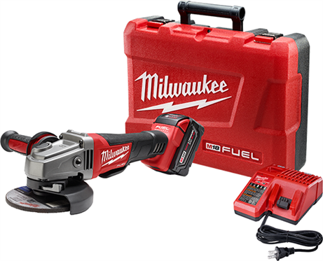 Milwaukee 2780-21 M18 FUEL 4-1/2in. / 5in. Grinder, Paddle Switch No-Lock Kit