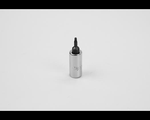 S-K 42508 T8 1/4in Dr Tamper-Proof Torx Bit Socket