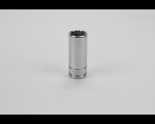 S-K 8433 13mm 3/8inDr 12 Point Metric Dp Chrome Socket