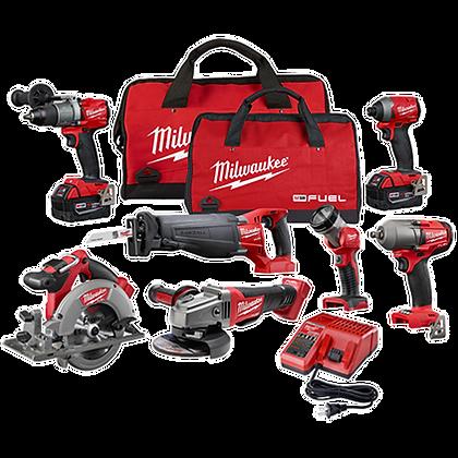 Milwaukee 2997-27 M18 FUEL 7 Tool Combo Kit
