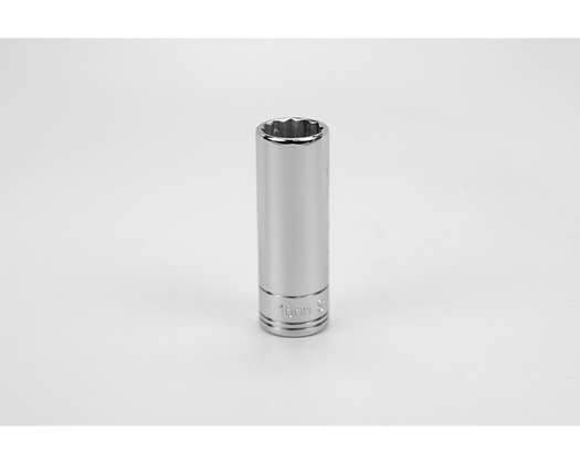 S-K 8436 16mm 3/8inDr 12 Point Metric Dp Chrome Socket