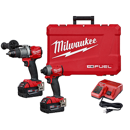 Milwaukee 2997-22 M18 FUEL 2-Tool Combo Kit: Hammer Drill/Impact