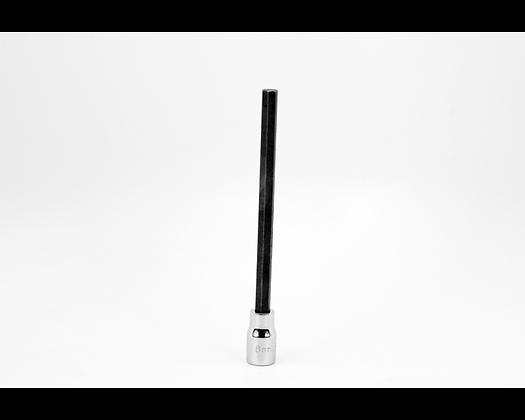 S-K 45956 6mm 3/8in Dr Long Hex Chrome Bit Socket