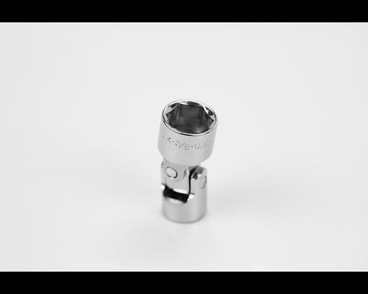 S-K 40620 5/8in 3/8in Dr 6 Point Fract Flex Chrome Socket