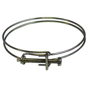 "JET JW1317 4"" 2 RING HOSE CLAMP"