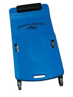 Lisle 94032 LARGE WHEEL PLASTIC CREEPER, BLUE