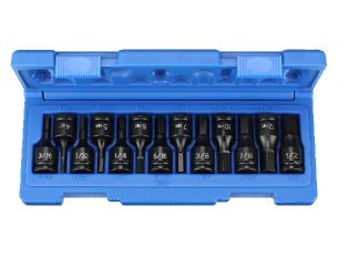 Grey Pneumatic 1298HC 3/8Dr 13 Pc hex Impact bit set