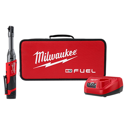 Milwaukee 2559-21 M12 FUEL 1/4in. Extended Reach Ratchet Kit