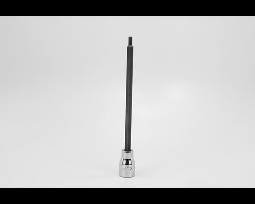 S-K 45905 5/32in 3/8in Dr Long Hex Chrome Bit Socket