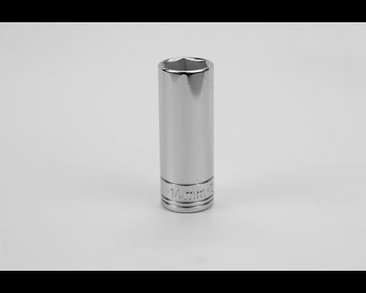 S-K 41710 14mm 1/4in Dr 6 Point Metric Dp Chrome Socket