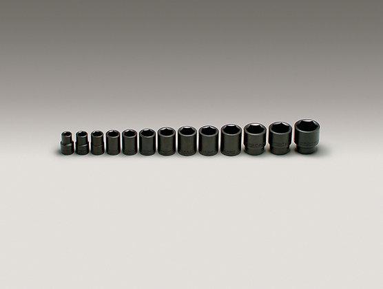 "Wright Tool 415 13 Pc. 1/2"" Dr. 6Pt. Standard Impact Socket Set"