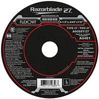 """FlexOvit A0481 Type 27 Cutoff Wheel 4-1/2"""" x 0.045"""" x 7/8"""""""