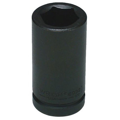 "Wright Tool 3916 1/2"" 6 Pt. Deep Impact 3/8"" Dr. Socket"