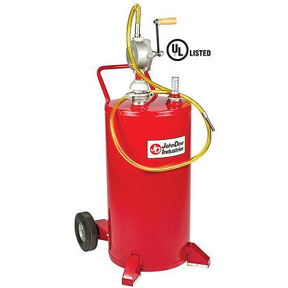 John Dow FC-25GC 25-Gallon UL Listed Steel Gas Caddy