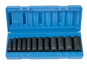 Grey Pneumatic 1213D 3/8 Dr 12 Pc Dp Set