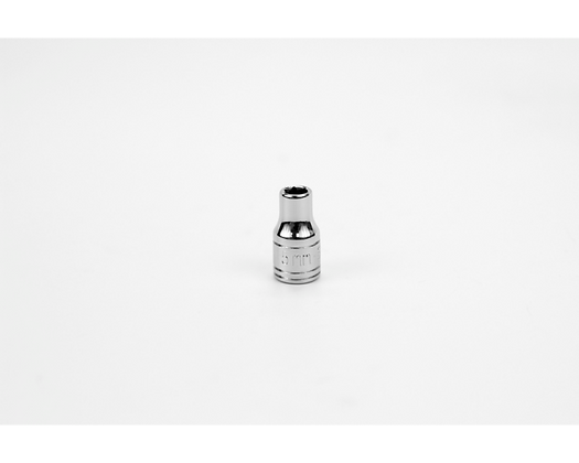 S-K 40702 5mm 1/4in Dr 6 Point Metric Std Chrome Socket