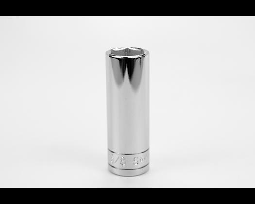 S-K 40420 5/8in 3/8in Dr 6 Point Fract Dp Chrome Socket