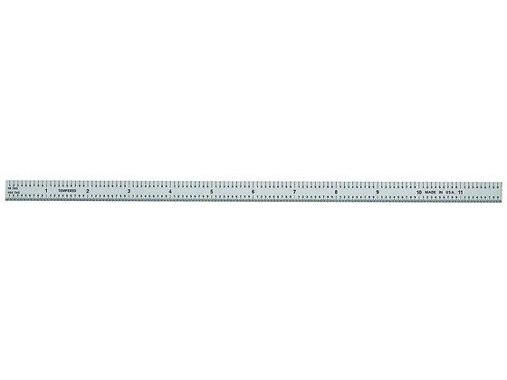 General CF1249md Ultratest 12 In. Flexible Steel Rule, 10ths in. Graduations