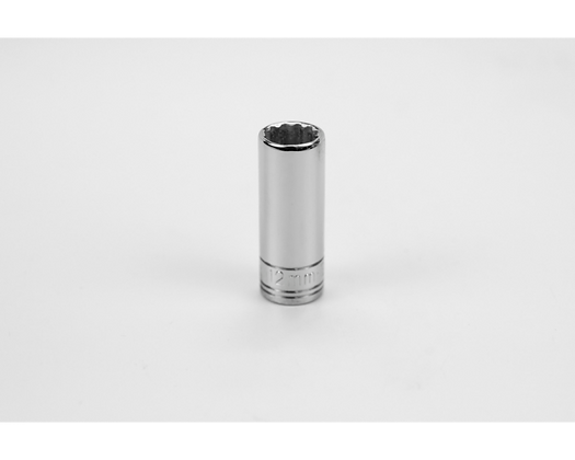 S-K 8432 12mm 3/8inDr 12 Point Metric Dp Chrome Socket