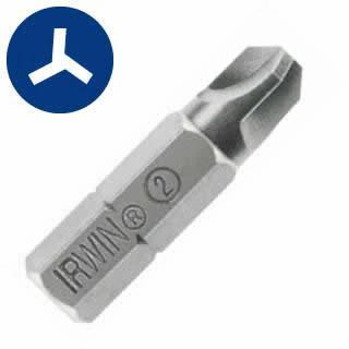 "Irwin 92537 #3  TRI-WING Insert Bit 1"" Length"