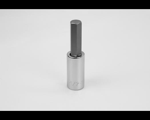 S-K 41216 1/2in 1/2in Dr Hex Chrome Bit Socket