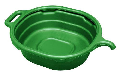 Lisle 17982 4.5 GALLON OVAL DRAIN PAN, GREEN