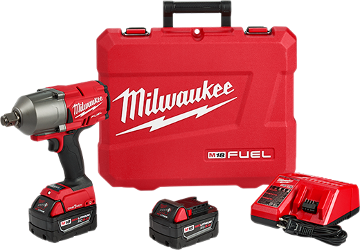 Milwaukee 2864-22 M18 FUEL w/ ONE-KEY High Torque Impact Wrench 3/4in. Kit