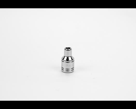 S-K 40701 4mm 1/4in Dr 6 Point Metric Std Chrome Socket