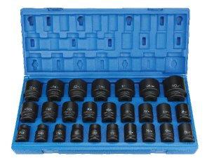Grey Pneumatic 8026M 3/4 Dr. 26 Pc Met Master Set 1