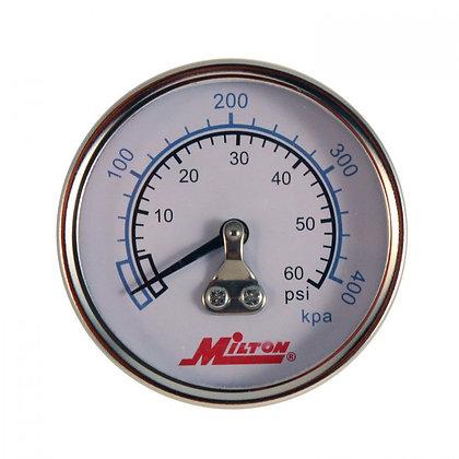 Milton 1190 1/4in. NPT Mini Pressure Gauge