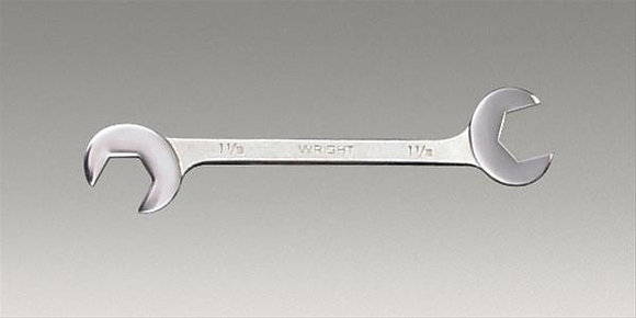 """Wright Tool 1388 1-3/8"""" x 1-3/8"""" Double Angle Open-End Wrenches"""