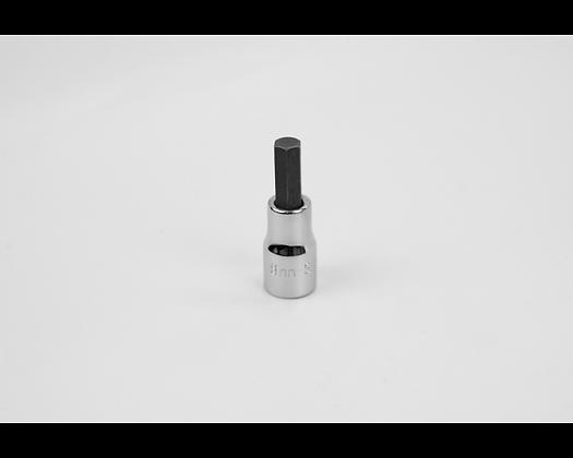 S-K 41407 8mm 3/8in Dr Hex Chrome Bit Socket
