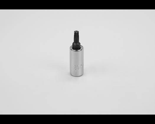 S-K 42943 T25 1/4in Dr Torx Plus Chrome Bit Socket