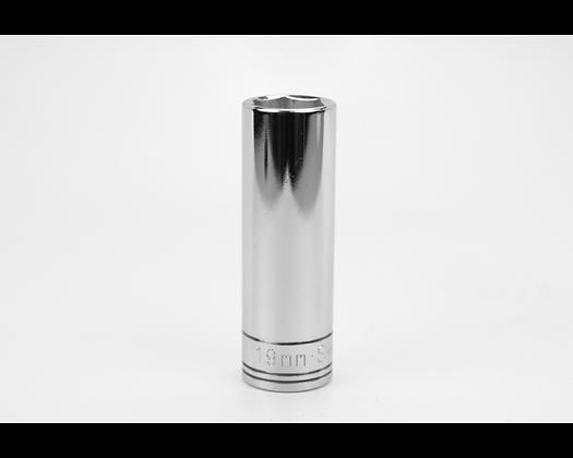 S-K 40019 19mm 1/2in Dr 6 Point Metric Dp Chrome Socket