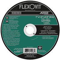"FlexOvit L2311 Type 1 Circular Saw Wheel 7"" x 1/8"" x 5/8"""