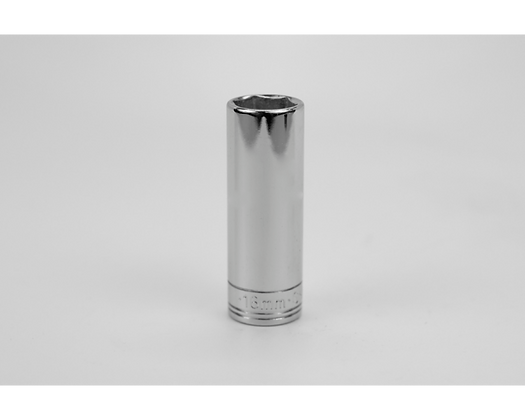 S-K 8416 16mm 3/8inDr 6 Pt Metric Extra Dp Chrome Socket